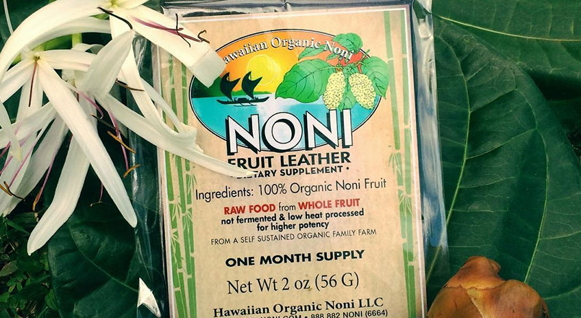 noni fruit leather